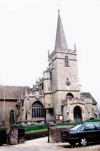 レイコック(Lacock)、聖シリアク教会(St. Cyriac's Church)