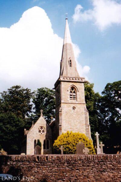 ロウアー・スローター(Lower Slaughter)、The Parish Church of Saint Mary Lower Slaughter