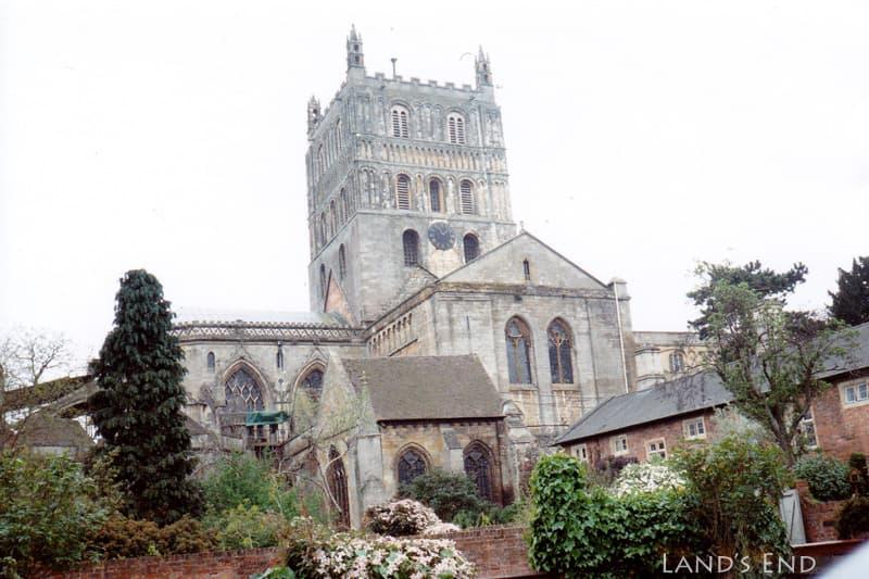 テュークスベリー(Tewkesbury)、テュークスベリー修道院(Tewkesbury Abbey)
