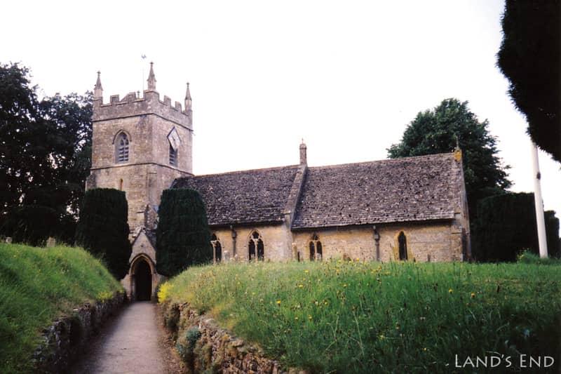 アッパー・スローター(Upper Slaughter)、St Peter's Church