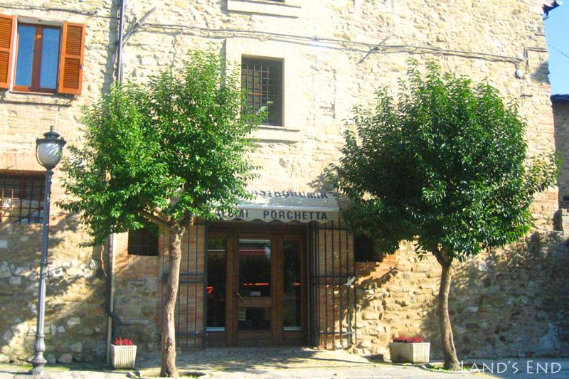 ベヴァーニャ(Bevagna)のお店