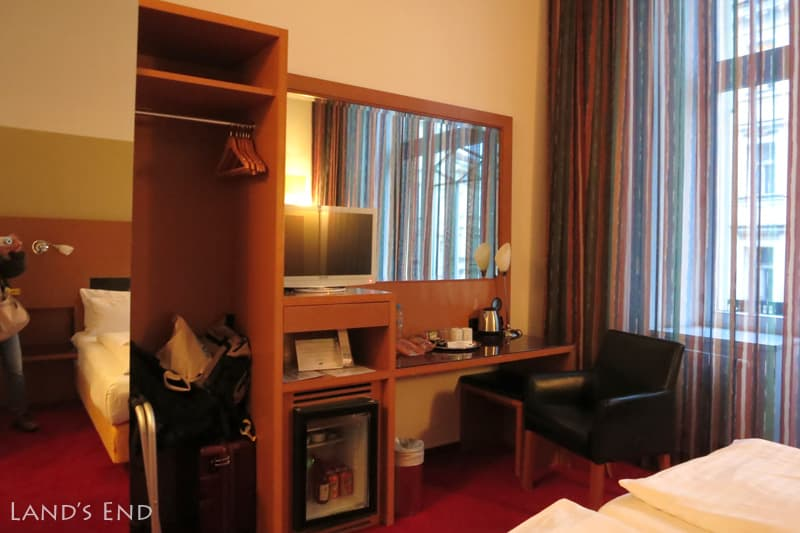 Hotel Theatrino Prague 泊まった部屋