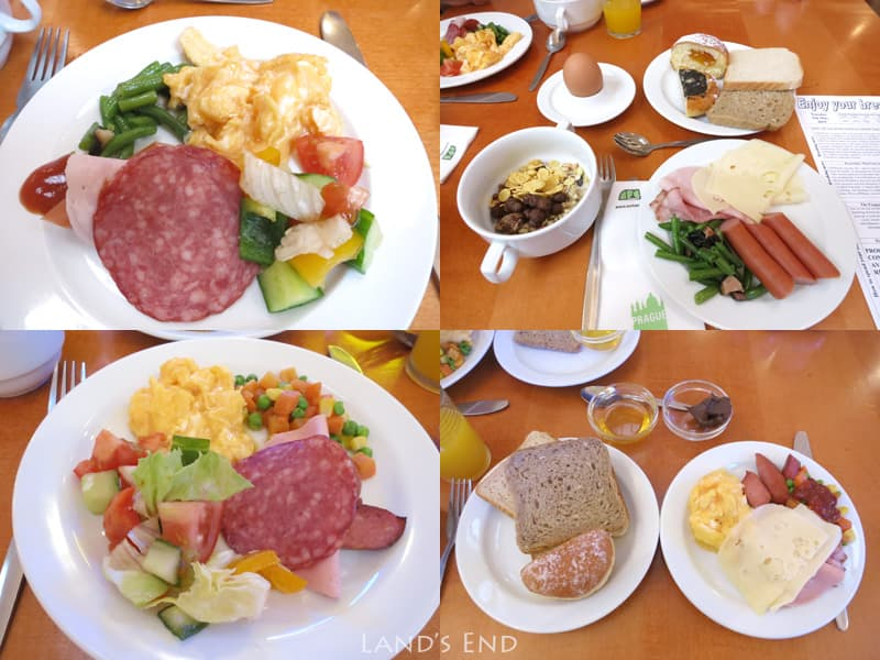 Hotel Theatrino Pragueの朝食