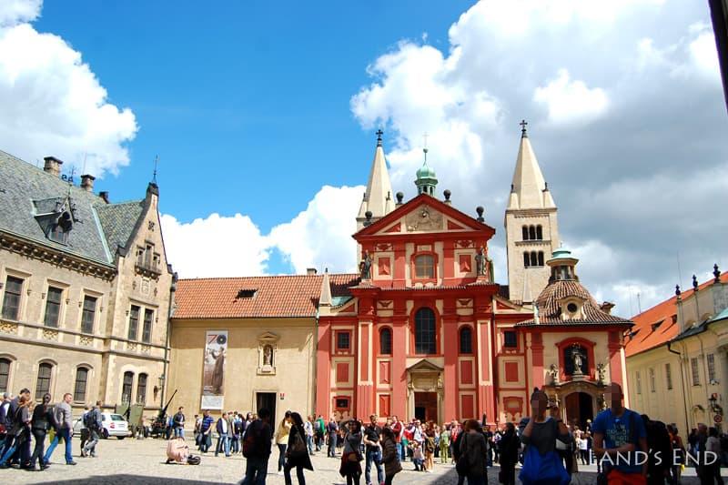 プラハ城、聖イジー教会