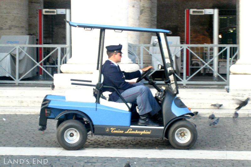 ランボルギーニのパトカー