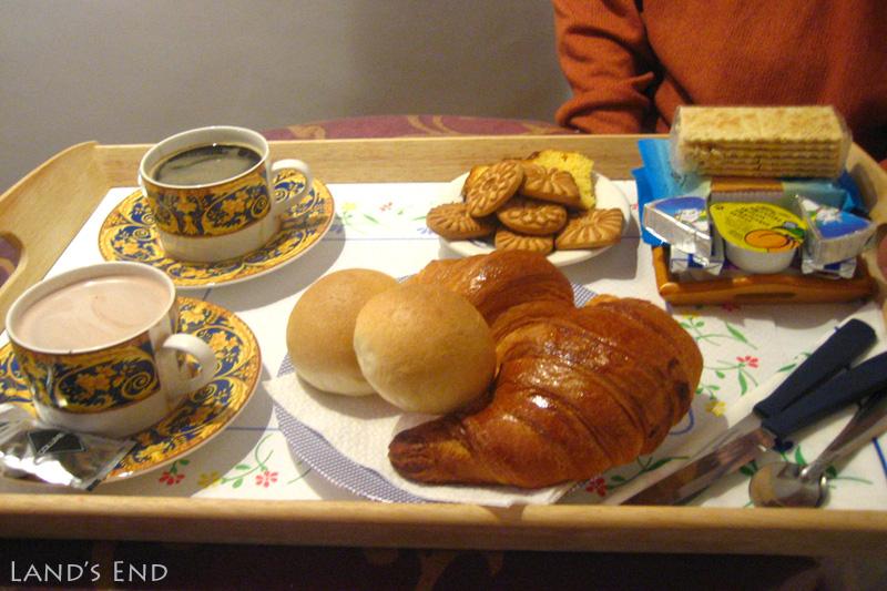 ノッティ ア ローマ(Notti a Roma)の朝食