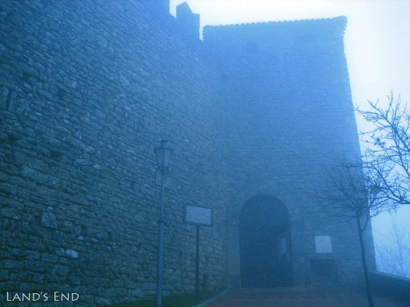 サン・マリノ、ロッカ・グアイタ(第1の要塞)