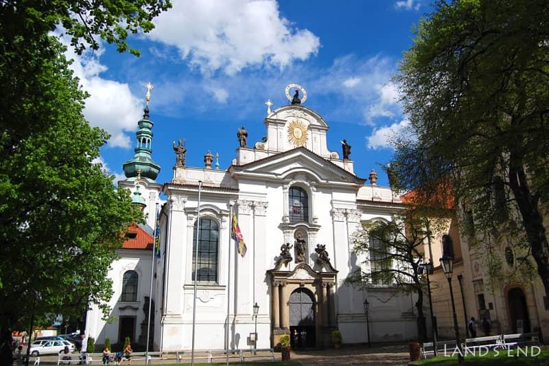 プラハ、ストラホフ修道院