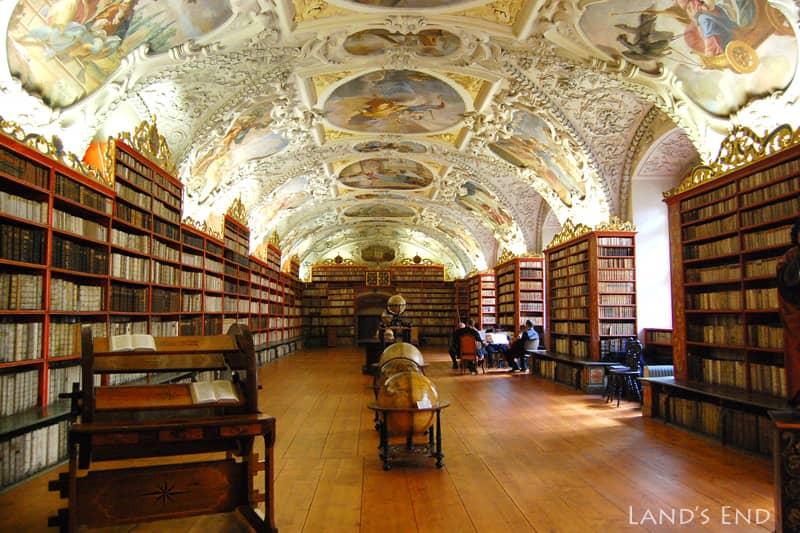 プラハ、ストラホフ修道院、神学の間
